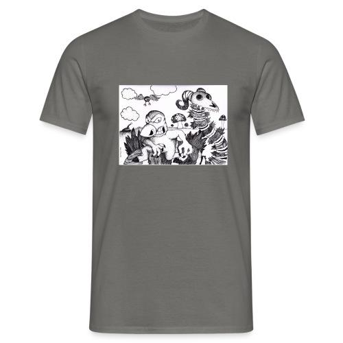 mutant mole - T-shirt herr