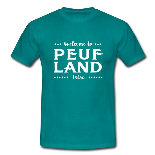 Peuf Land 38 - Isère - White - T-shirt Homme