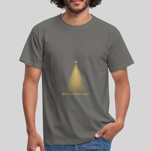 Christus Jesus unser Erretter ist geboren - Männer T-Shirt