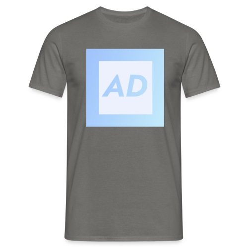 Blue Logo - Men's T-Shirt