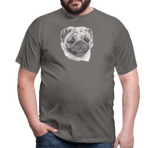 Pug mops 2 - Herre-T-shirt