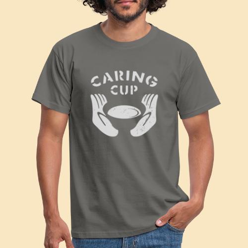 Caring Cup hellgrau - Männer T-Shirt