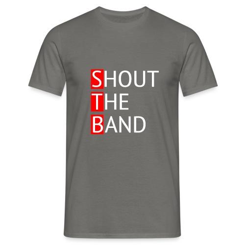 shout-logo- - Miesten t-paita