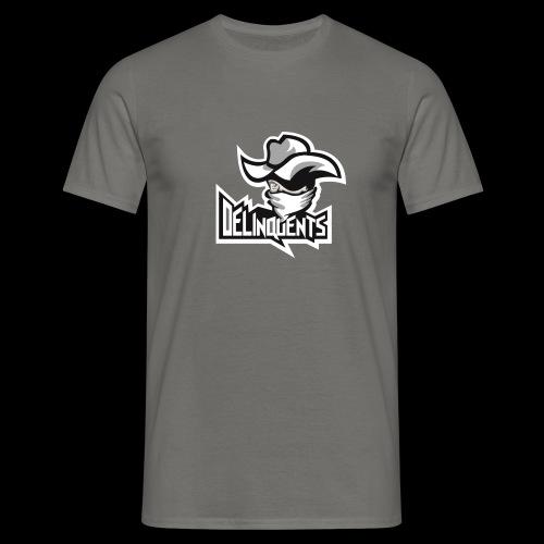Delinquents Grå Design - Herre-T-shirt