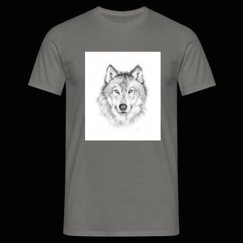 Wolf - Herre-T-shirt