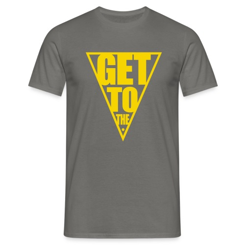 GET TO THE POINT - Men's T-Shirt