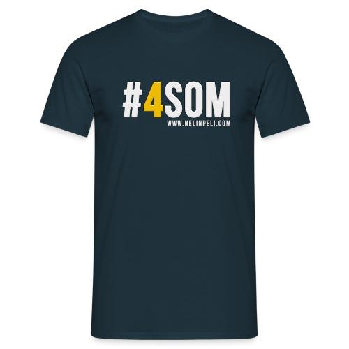 #4SOM - Miesten t-paita