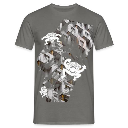 concretejungle - elephantkiwi - Männer T-Shirt