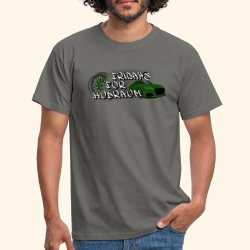 Fridays for Hubraum (Felge + Auto) - Männer T-Shirt