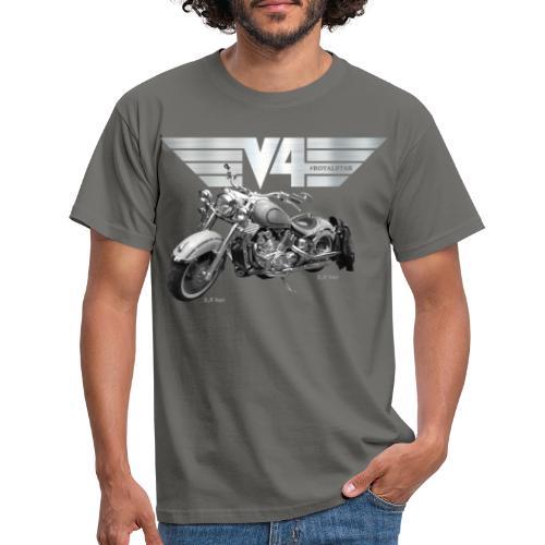 Royal Star silver Wings - Männer T-Shirt