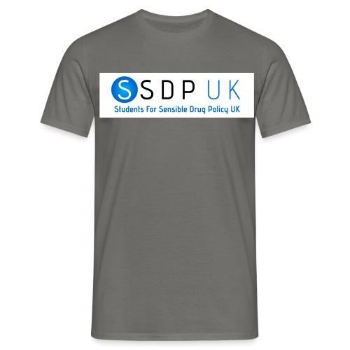 SSDP Circle Gradient wText jpg - Men's T-Shirt