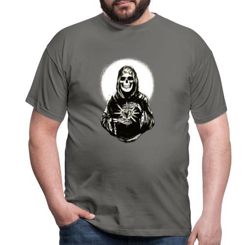 ✦ Halo negro de la Santa Muerte ✦ - Männer T-Shirt