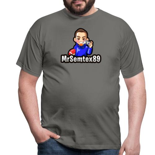 MrSemtex89 Logo - Männer T-Shirt