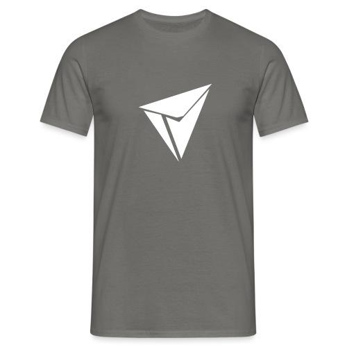 90gQopen T-Shirt   Logga Vit - T-shirt herr