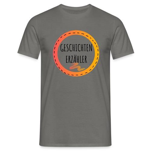 GESCHICHTENERZAEHLER black 1 - Männer T-Shirt