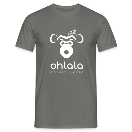 Ohlala Sleep WHITE - T-shirt Homme