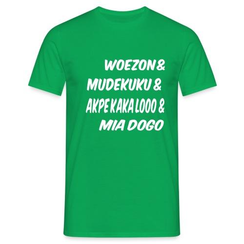 WOEZON MDEKUKU AKPE MIA DOGO - T-shirt Homme