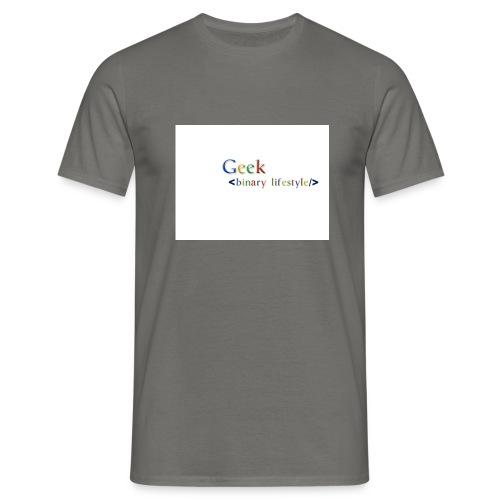 geek_life_style_google_font - Camiseta hombre