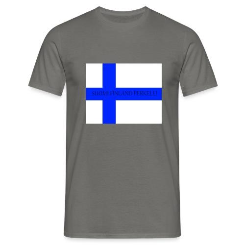 SUOMI FINLAND PERKELE - Miesten t-paita