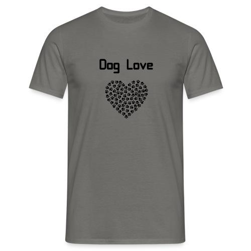 Dog love - Koszulka męska