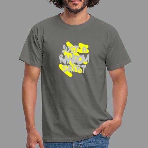 gewoon een willekeurig shirt - Mannen T-shirt