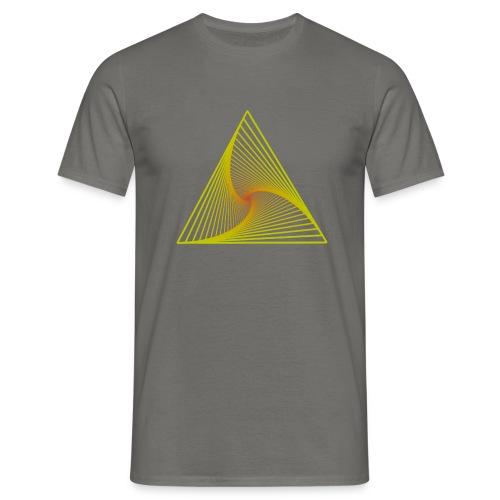 Polar_Coordinates_Rectangle - Männer T-Shirt