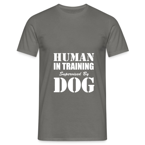 human-in-training - T-shirt herr