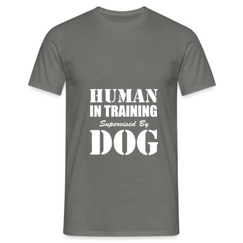 human-in-training - T-shirt herr