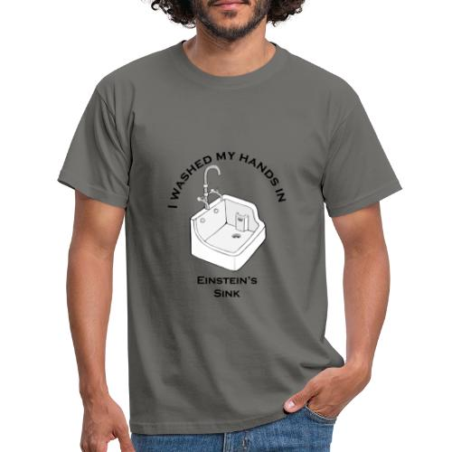 Einsteins Sink - Mannen T-shirt