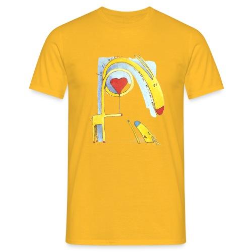 Giraffa innamorata - Maglietta da uomo