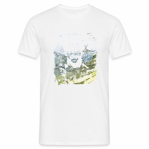 Pablo Escobar distressed - Männer T-Shirt