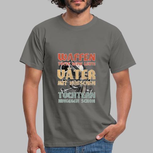 Väter mit hübschen Töchtern - Männer T-Shirt