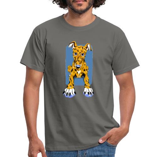 HUG Greyhound Pup - Men's T-Shirt