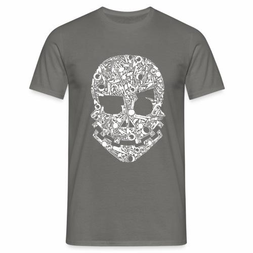 Tete instrument Blanc - T-shirt Homme