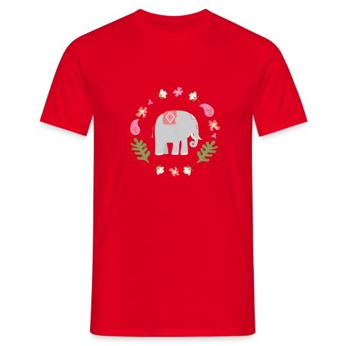 Indian elephant - Maglietta da uomo