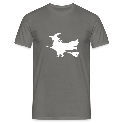 bruja blanca - Camiseta hombre