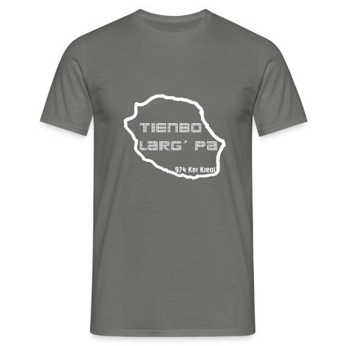Tienbo larg pa blanc - T-shirt Homme