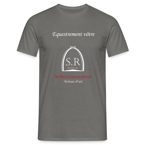 Logo S.R. Equestrement vôtre - T-shirt Homme
