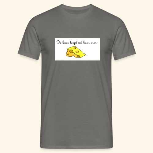 Kaas loopt uit haar oren - Temptation - Mannen T-shirt