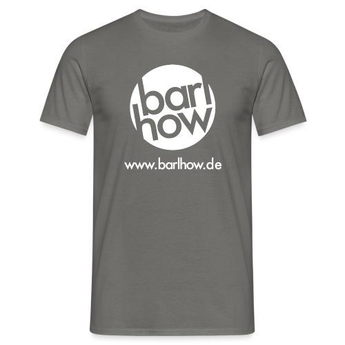 barlhow Logo weiß - Männer T-Shirt