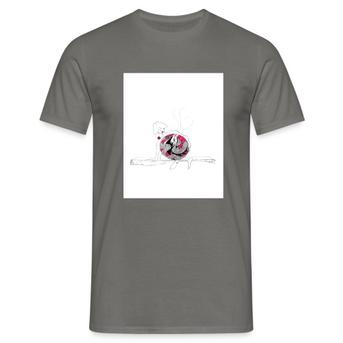 red lady - Men's T-Shirt