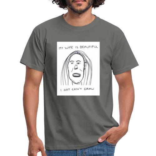 Kaunis vaimoni - Miesten t-paita