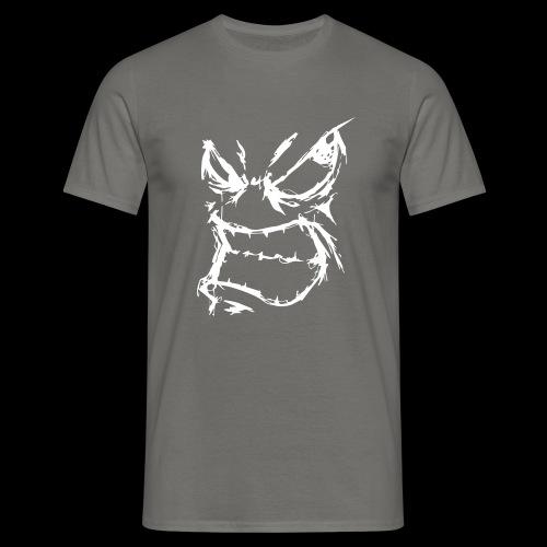face - T-shirt herr
