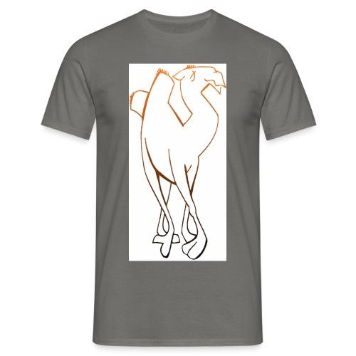 kamel - T-shirt herr