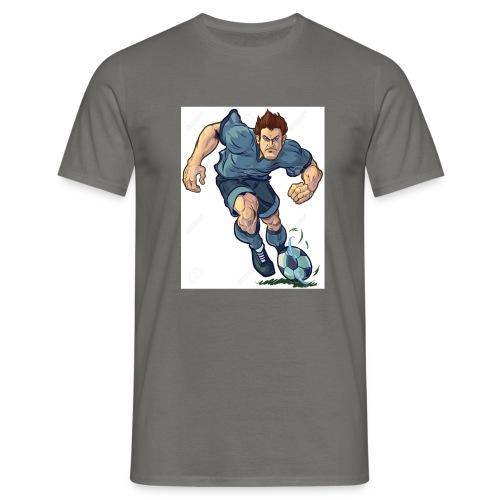 41982995-Vector-de-dibujos-animados-ilustraci-n-de - Camiseta hombre