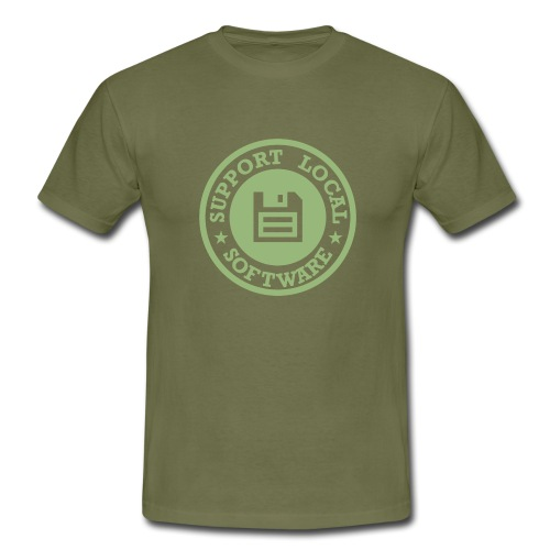 Support Local Software - Men's T-Shirt