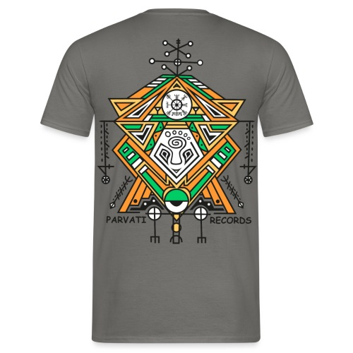 Parvati Records Vegvísir - Men's T-Shirt