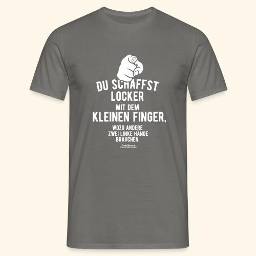 Frecher Spruch Zwei linke Hände T Shirt - Männer T-Shirt