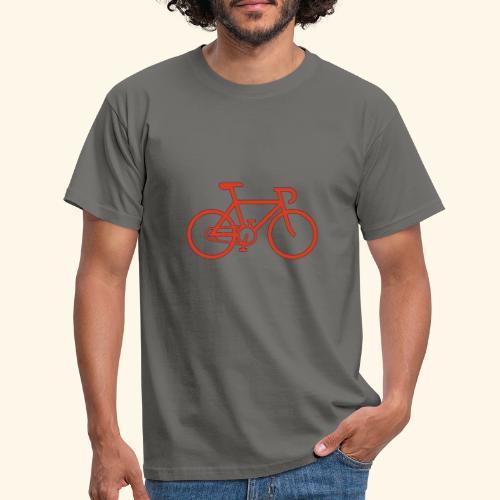 Rennrad, Race-Bike, Fahrrad - Männer T-Shirt