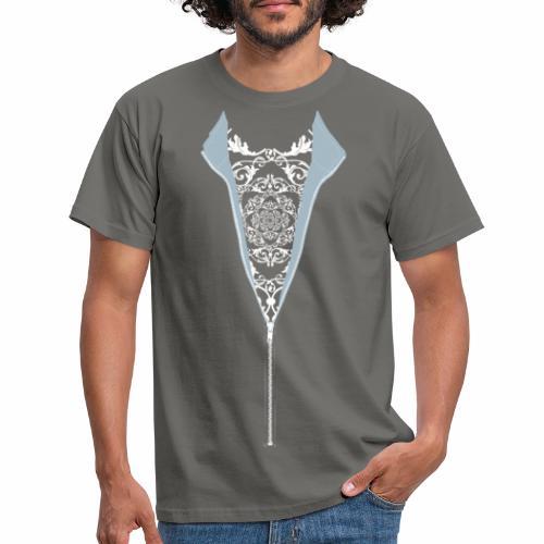 Camiseta chaqueta cremallera cool - Camiseta hombre